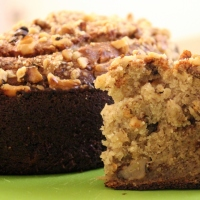 Banana Walnut Bread / Banana Nut Cake