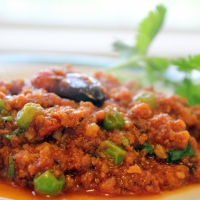 Kheema Mattar Masala | Ground Lamb or Goat Curry Cooked with Green Peas