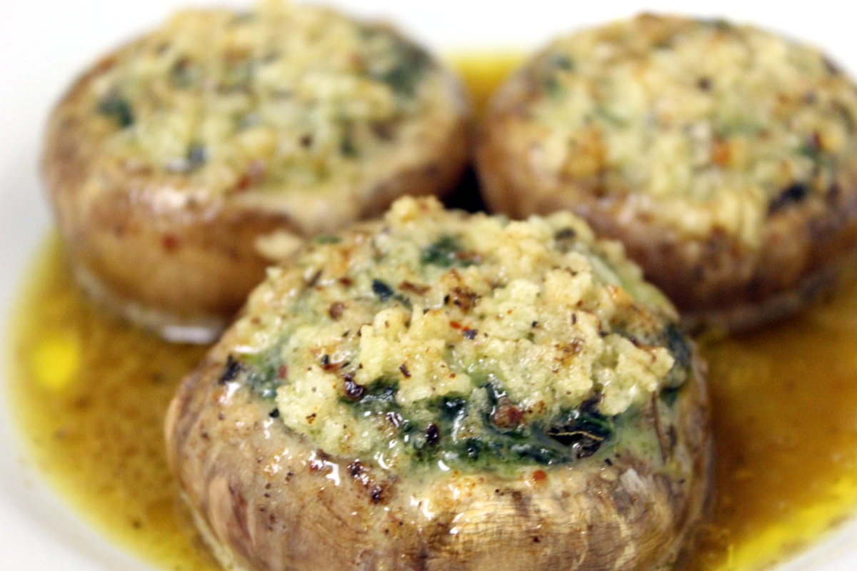 Stuffed Mushrooms Maggiano's style