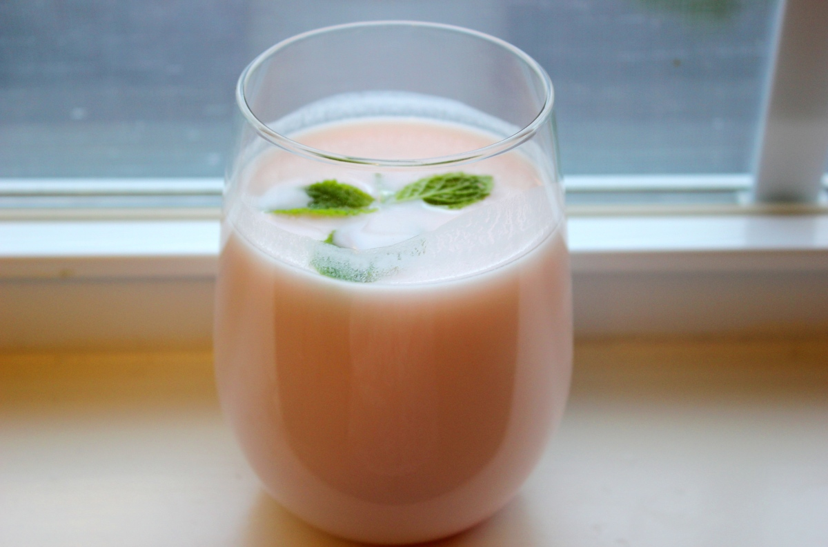Pink Lassi / Indian Yogurt Drink