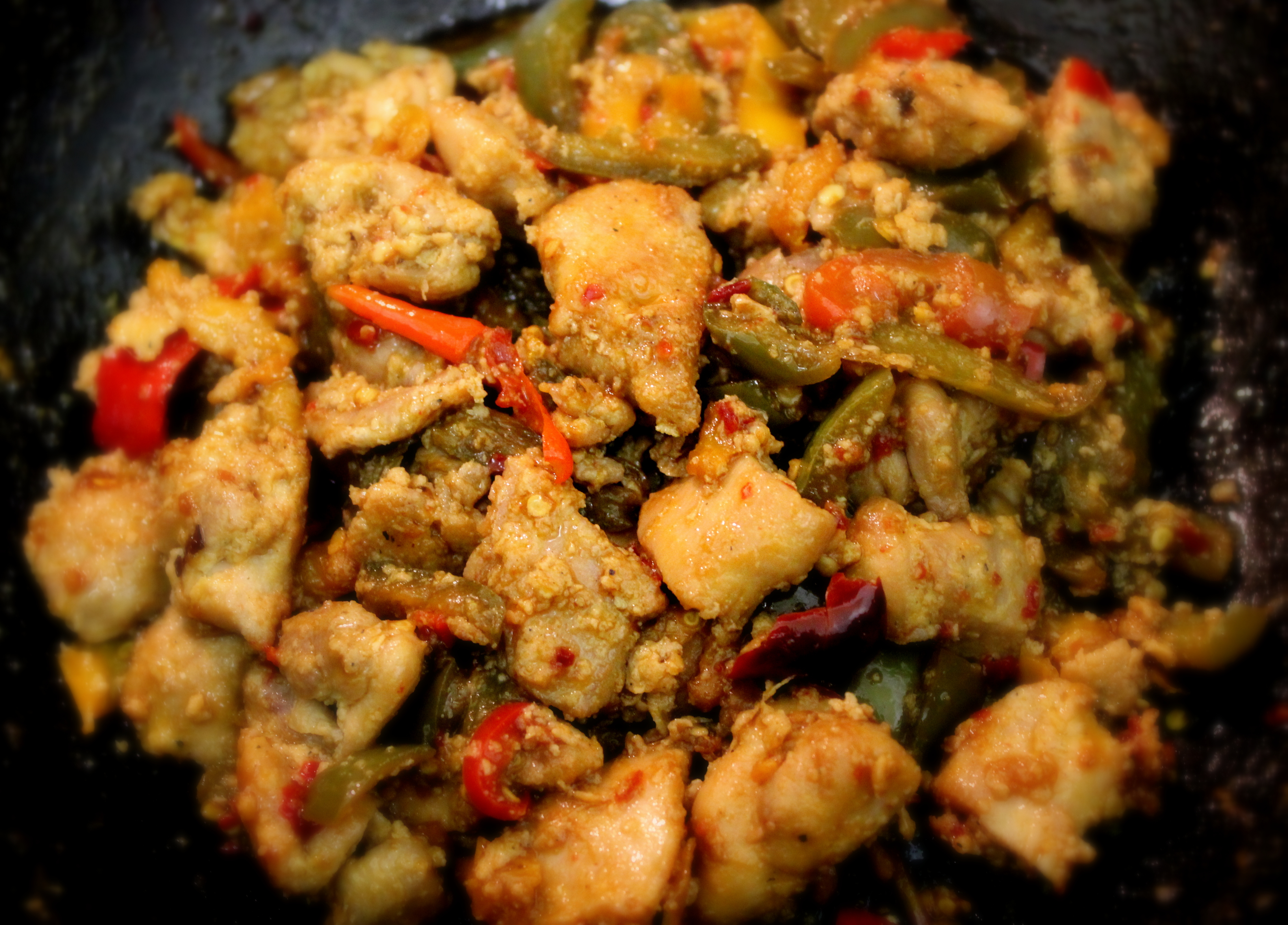 Chilli chicken indo chinese style aish cooks chilli chicken indo chinese style forumfinder Image collections