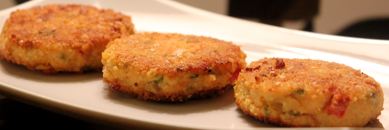 Salmon Cakes / Mildly Spiced Flaked Salmon Patties | Aish Cooks