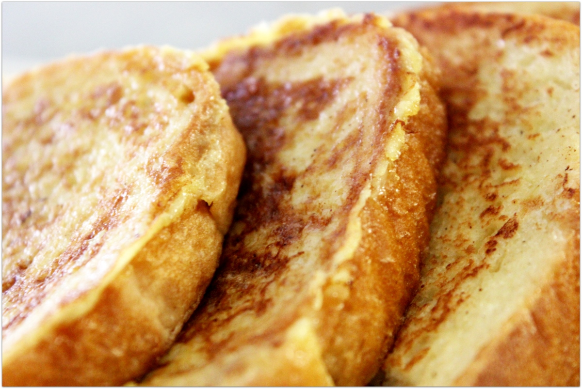 Sweet Cinnamon French Toast