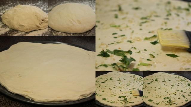 preparing naan - step by step pictures