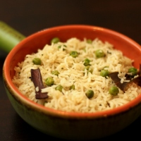 Jeera Peas Pulao / Cumin and Green peas Rice