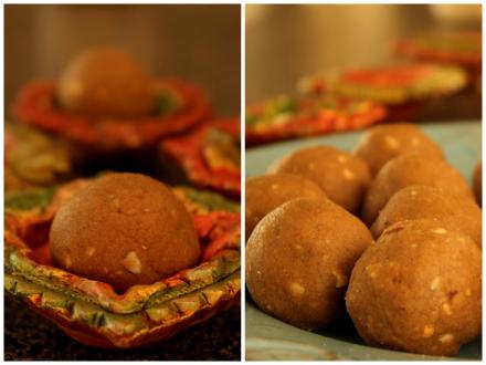 Diwali sweet | Atta Laddu | Wheat Flour laddoos for Diwali