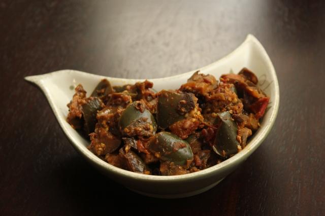 indian eggplant masala