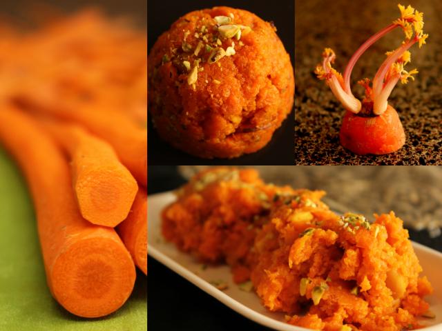 gajar (carrot) halwa