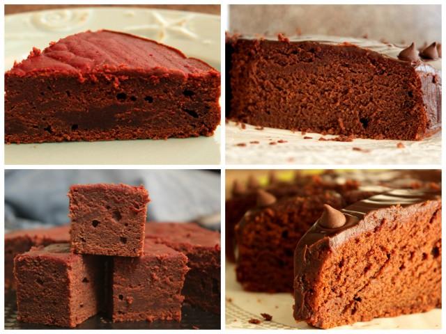 dense vs. moist chocolate beetroot cake