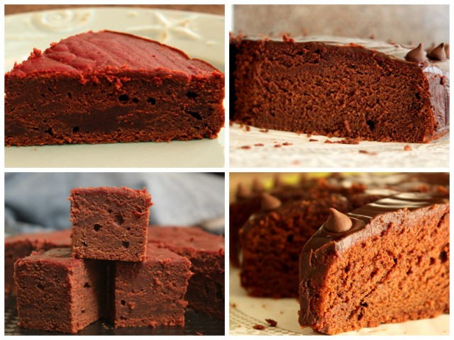 dense vs. moist chocolate beetroot cake