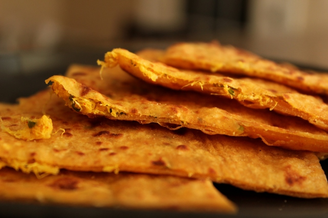 Mooli Paratha | Indian flat-breads stuffed with grated radish