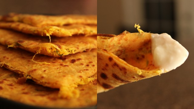 mooli-paratha-with-yogurt