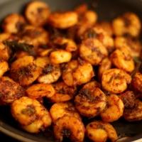 Nadan Chemeen Roast | Kerala Style Shrimp Roast