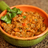 Baingan Bharta | Roasted Eggplant Curry