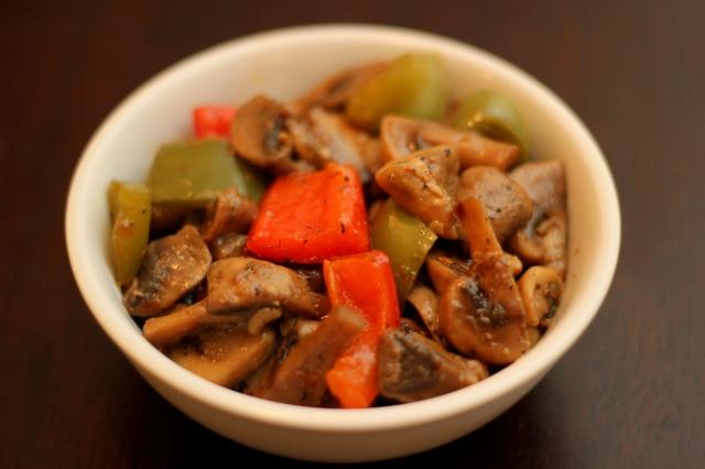 mushroom-pepper-stirfry