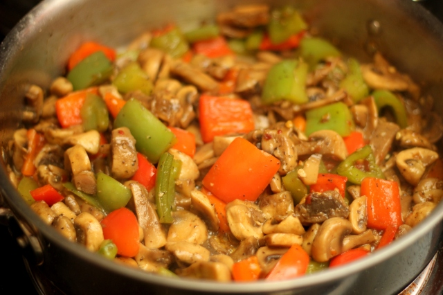 mushroom-peppers-stirfry-IndoChinese-style