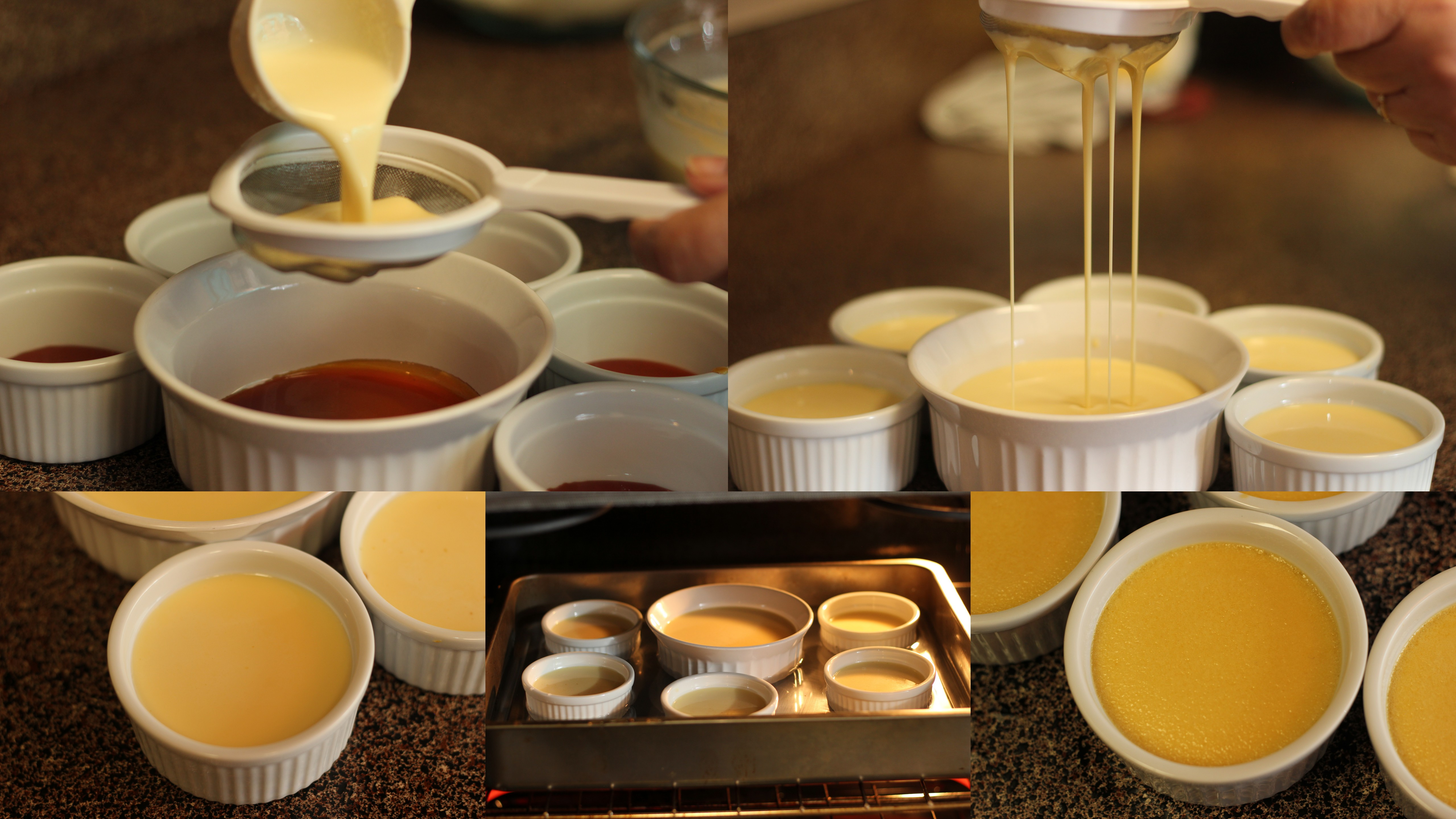 Flan Caramel Custard Step By Recipe Baking