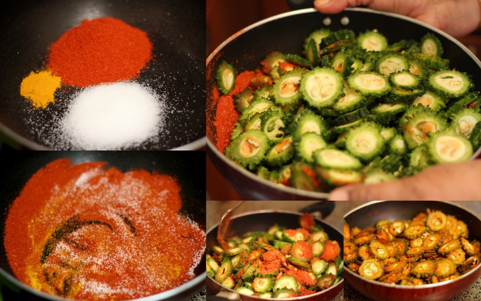 pavakkai-varuval-bitter-gourd-fry-step-by-step-picture-recipe (spice marinade)