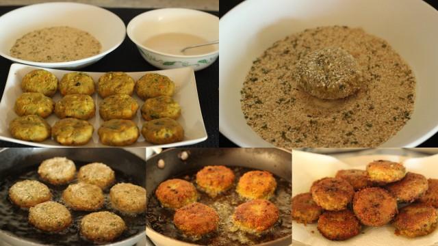 veggie-cutlets-frying-the-patties
