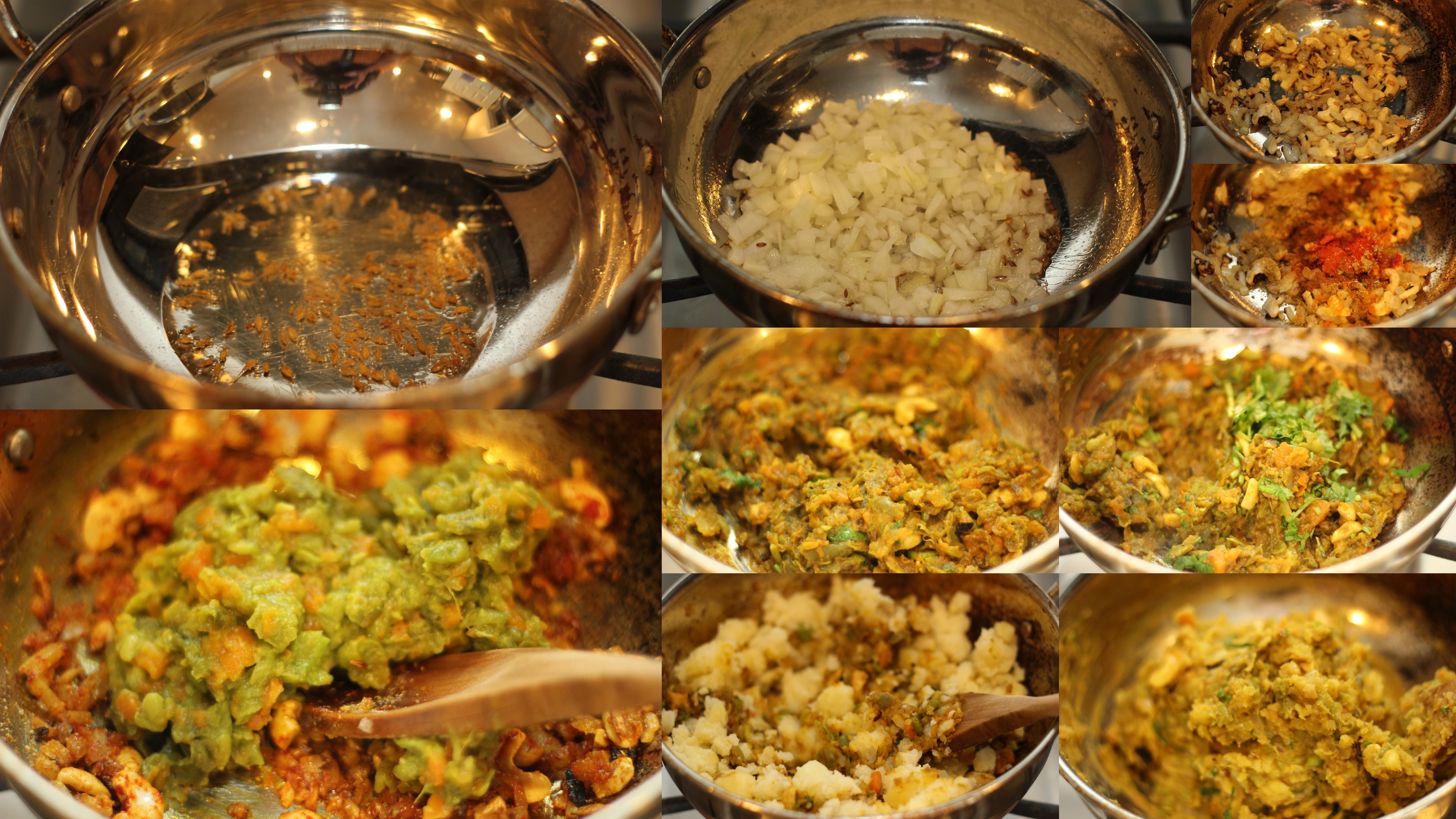 how to prepare veggies for goldfish