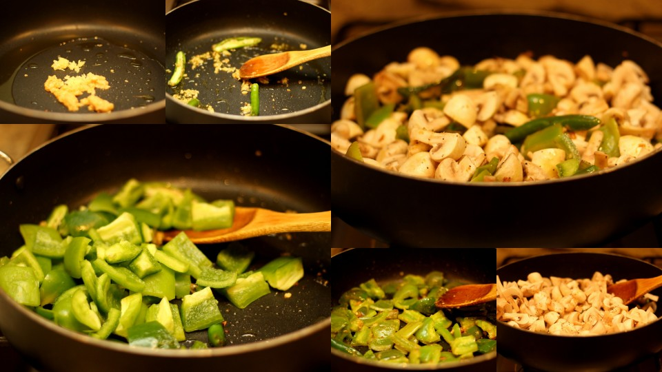Mushrooms-Coconut-Milk-Curry-step-by-step-recipe-saute-veggies