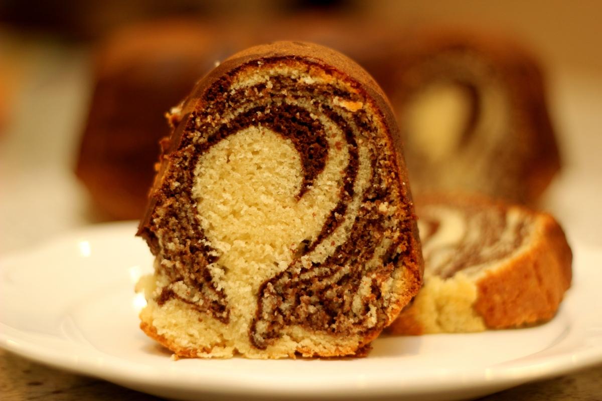 Zebra Bundt Cake Aish Cooks
