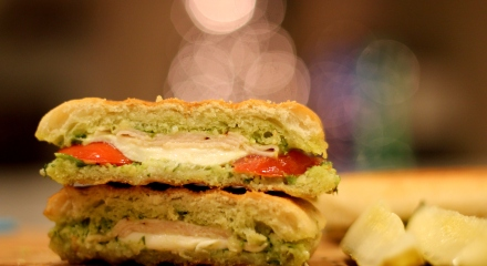 chicken-pesto-panini