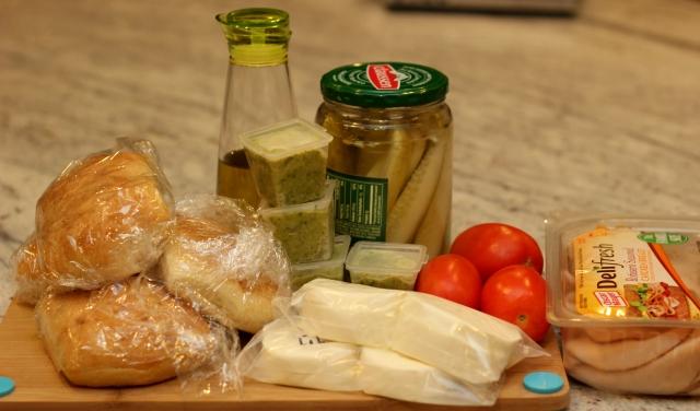 pesto-panini-ingredients