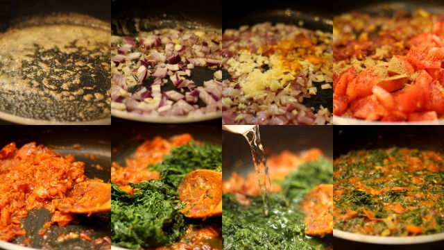 Saag-paneer-step-by-step-picture-recipe-preparing-the-puree-mixture